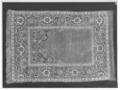 Matta, s.k. bönematta vävd och knuten - Skoklosters slott - 77321-negative.tif