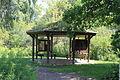 Matthaei Botanical Gardens Wetland Kiosk.JPG