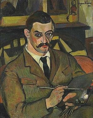 Maurice Utrillo - Suzanne Valadon, Portrait of Maurice Utrillo, 1921
