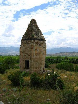 Zangilan District - Mausoleum in Məmmədbəyli
