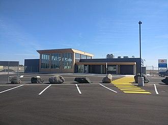 Kenora Airport - Image: Mc Dougald International Terminal
