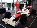 McLaren MP4-5 (Senna) front-left Honda Collection Hall.jpg