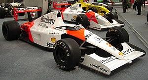 McLaren MP4/6 - Image: Mc Laren MP4 6 Honda