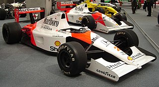 racing automobile