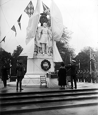 George Gordon Meade Memorial - Dedication of the memorial in 1927