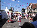 Mechanical Morris Dancers at Yarmouth Old Gaffers Festival 2011.JPG