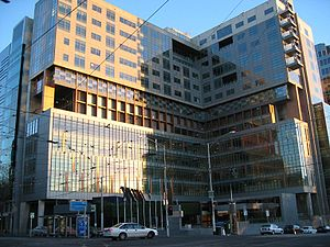 Melbourne Federal Court Building. Taken from F...