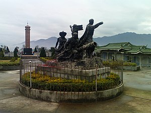 Taiping Rebellion - A historic monument to the Taiping Rebellion in Mengshan town, in Wuzhou, Guangxi, which was an early seat of Government of the Taiping.