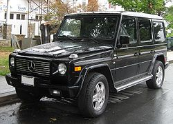 Mercedes-Benz G500 (US)