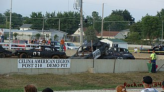 Celina, Ohio - Mercer County Fair Demo Derby