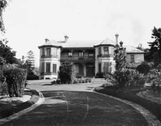 "Merioola Group - ""Merioola"" house as it appeared in 1911"