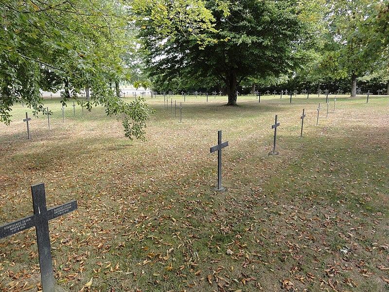 Merles-sur-Loison (Meuse) cimetière militaire allemand
