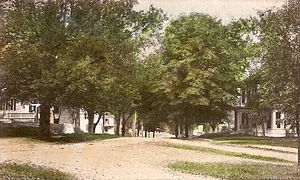 Merrimac, Massachusetts - Merrimac Street in 1911