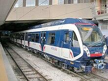 il Metrostar in funzione dal 2008