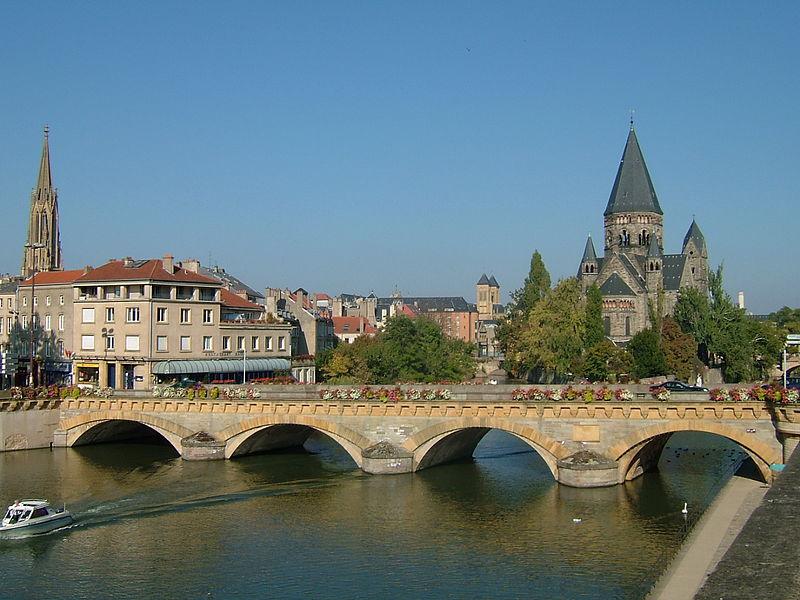 Metz – Veduta