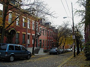 Mexican War Streets - Image: Mexican War Streets neighborhood 210038