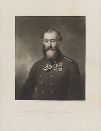 Baron Rokeby - Image: Mezzotint of 6th Lord Rokeby, by George Zobel after Sir Francis Grant, PRA, published by Henry Graves & Co, 1858