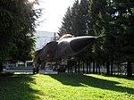 MiG-31 statue at SPbGUGA entrance.jpg