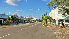 Centre-ville de Miami Shores.