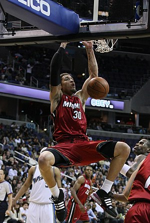 Michael Beasley - Beasley during his first tenure with the Heat