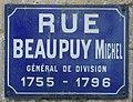 Michel de Beaupuy, plaque de rue.jpg