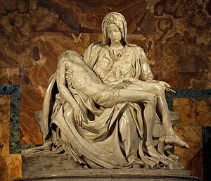 La Piedad de Miguel Ángel en el Vaticano