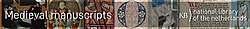 Middeleeuwse Handschriften KB Banner Wikimedia EN.jpg