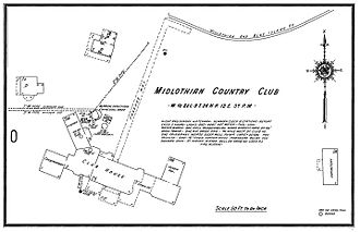 Midlothian Country Club - Image: Midlothian and Blue Island Railroad Sanford Club Grounds