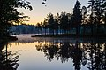 Midsummer Night at Lake Korkeajärvi - panoramio.jpg
