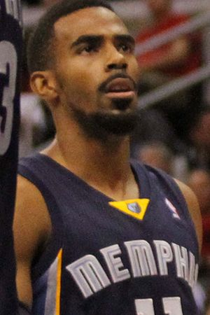 2007 NBA draft - Image: Mike Conley cropped 20131118 Clippers v Grizzles