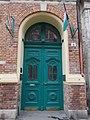 Miksa Roth Memorial House door, 2016 Erzsébetváros.jpg