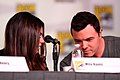 Mila Kunis & Seth MacFarlane (7601672558).jpg