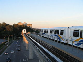 Rapid transit line in Metro Vancouver, Canada
