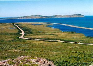 Miquelon-Langlade - Northern coast of Miquelon Island