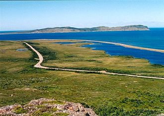 Miquelon-Langlade - Northern coast of Miquelon Island