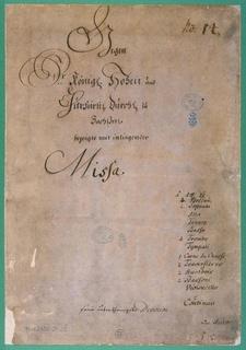 Bachs <i>Missa</i> of 1733