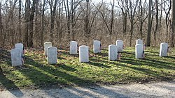 Cemetery at the Mississinewa Battlefield