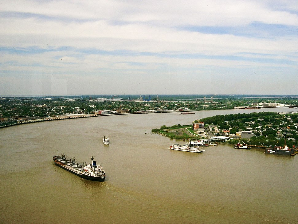 Mississippi River - New Orleans