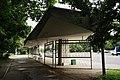 Modernist bus stop in Zelenograd (1960s, design by Boris Oskin) (21059530630).jpg