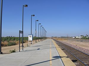 Altamont Corridor Express - ACE service is expected to be extended to Modesto, offering connections to eventual Amtrak and California High-Speed Rail.