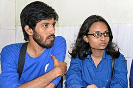 Moheen Reeyad & Tilottama Titlee at Chittagong meetup 4 (01).jpg