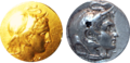 Moneta Agatocle - Tolomeo - Alessandro.png