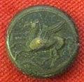 Monetiere di fi, moneta romana repubblicana con pegaso 04.JPG