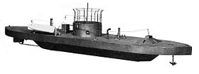 Modelo do USS Monitor