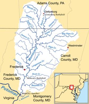 Monocacy River - Image: Monocacy