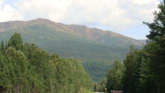 Gaspé Peninsula - Image: Mont Albert