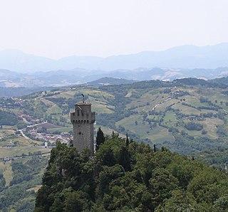 Montale (San Marino) mountain in San Marino