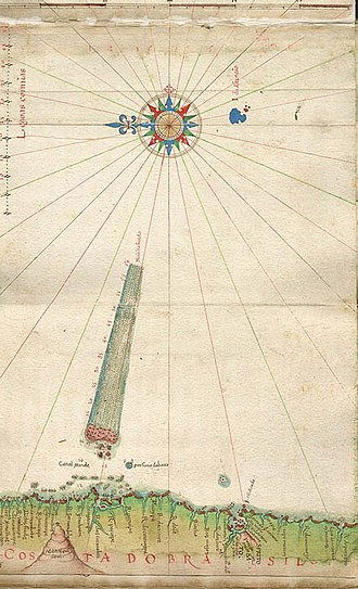 Monte Pascoal - Image: Monte pascoal mapa