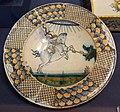 Montelupo, piatto con san giorgio e il drago, 1490-1510 ca..JPG