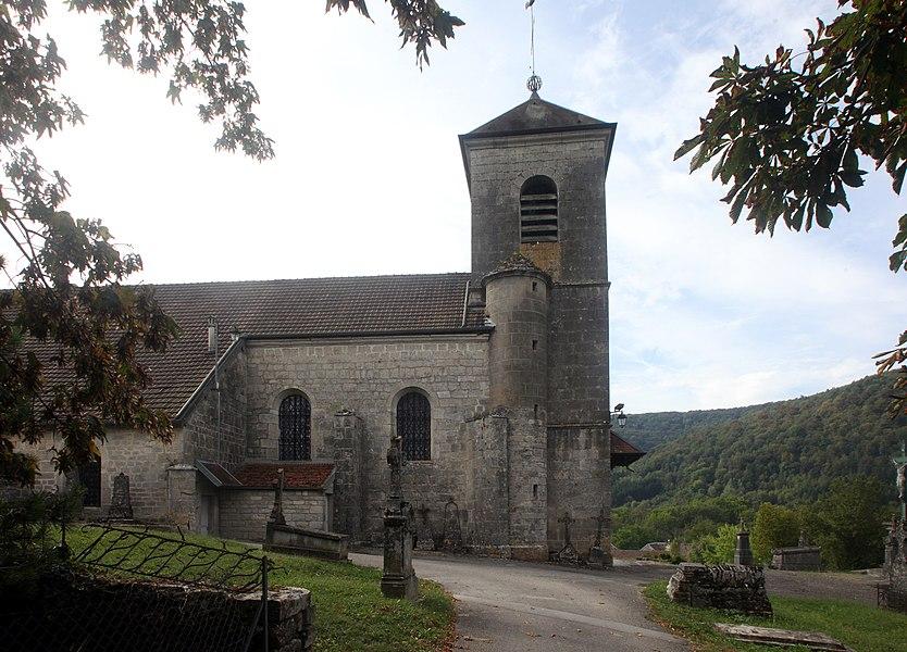 Église de Montgesoye (Doubs).
